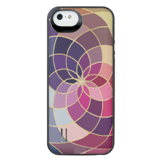 Amazing Colorful Abstract Design iPhone SE/5/5s Battery Case