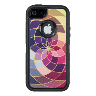 Amazing Colorful Abstract Design OtterBox Defender iPhone Case