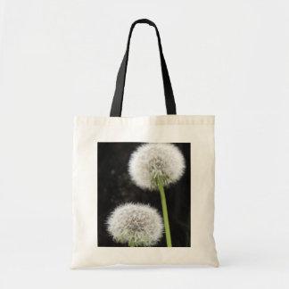 Amazing Dandelion Clocks Budget Tote Shopping Bag
