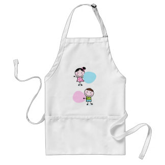 Amazing doodle characters / t-shirts standard apron