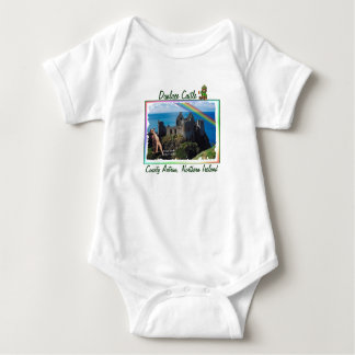 Amazing Dunluce Castle View Northern Ireland Baby Bodysuit