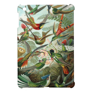 Amazing Ernst Haeckel Colorful hummingbirds. iPad Mini Covers