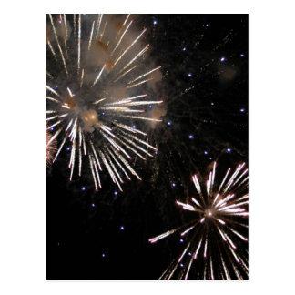 Amazing Fireworks Postcard