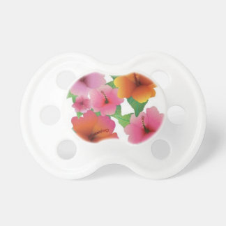 Amazing floral elements pacifier