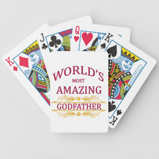 Amazing Godfather Bicycle Playing Cards