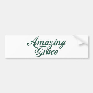 Amazing Grace Bumper Sticker