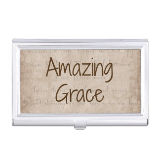 Amazing Grace Business Card Holder