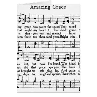amazing grace card