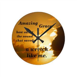 Amazing Grace Clock