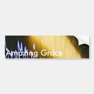 Amazing Grace: Enjoy and share the joy. Bumper Sticker