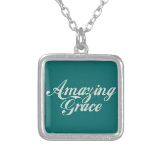 Amazing Grace Personalized Necklace