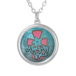 Amazing Grace Round Necklace