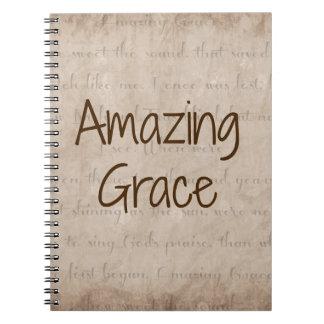 Amazing Grace Spiral Notebook