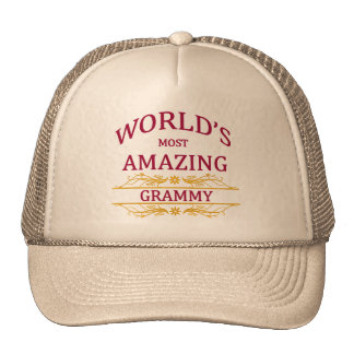 Amazing Grammy Cap