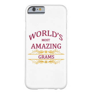 Amazing Grams Barely There iPhone 6 Case