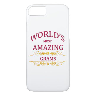 Amazing Grams iPhone 7 Case