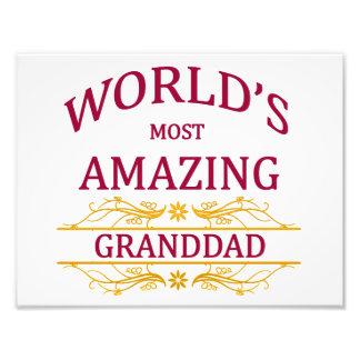 Amazing Granddad Photograph