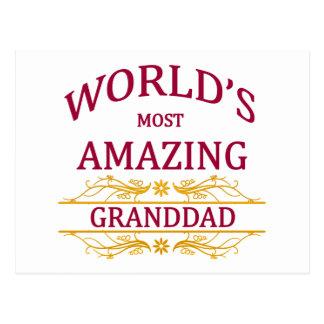 Amazing Granddad Postcard