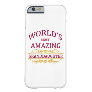 Amazing Granddaughter Barely There iPhone 6 Case