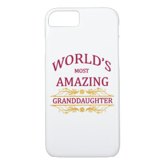 Amazing Granddaughter iPhone 7 Case