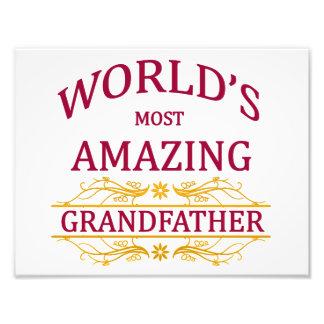 Amazing Grandfather Photo Print