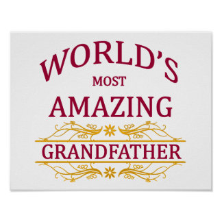 Amazing Grandfather Poster