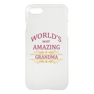 Amazing Grandma iPhone 7 Case