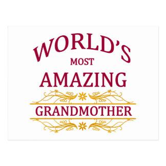 Amazing Grandmother Postcard