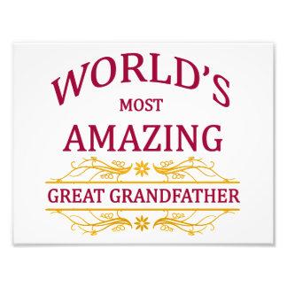 Amazing Great Grandfather Photo Print