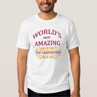 Amazing Great Grandmother Tshirts