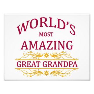 Amazing Great Grandpa Art Photo