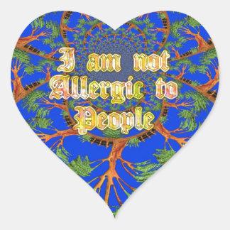 Amazing Hakuna Matata I am not allergic to people  Stickers