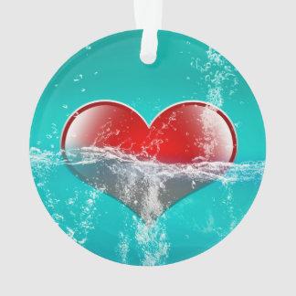Amazing heart ornament