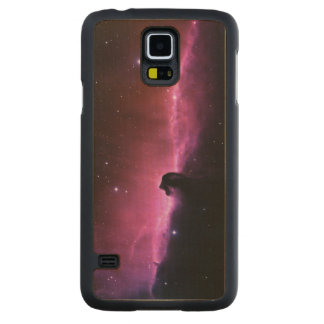 Amazing Horsehead Nebula Carved Maple Galaxy S5 Case