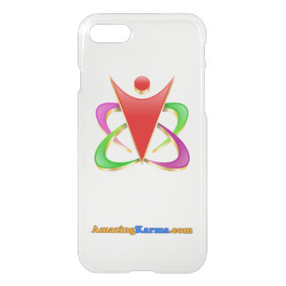 Amazing Karma | AmazingKarma.com Logo Clear iPhone 7 Case