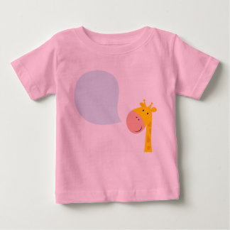 AMAZING KIDS PINK TSHIRT WITH GIRAFFE