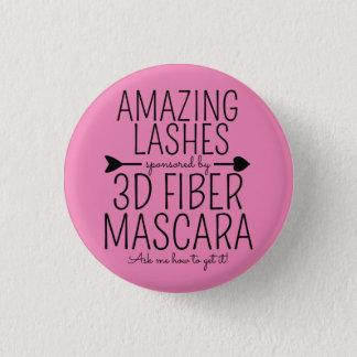 Amazing Lashes - Younique 3 Cm Round Badge
