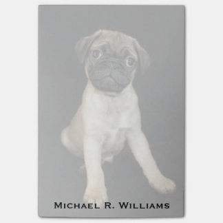 Amazing Little Pug Puppy Post-it Notes