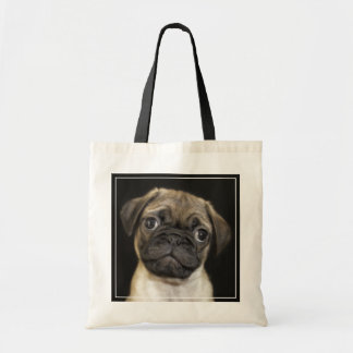 Amazing Little Pug Puppy Tote Bag