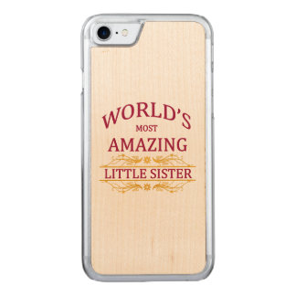 Amazing Little Sister Carved iPhone 8/7 Case