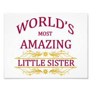 Amazing Little Sister Photograph