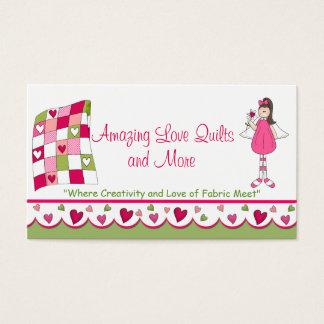 Amazing Love Quilt Custom Business Card