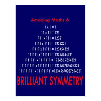 Amazing Maths Series 6 Postcard