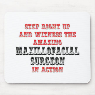 Amazing Maxillofacial Surgeon In Action Mouse Pad