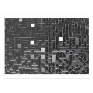 Amazing maze postcard