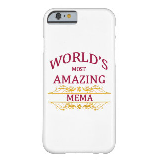 Amazing Mema Barely There iPhone 6 Case