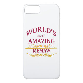 Amazing Memaw iPhone 7 Case