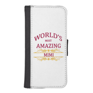 Amazing Mimi iPhone SE/5/5s Wallet Case