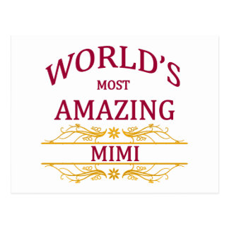 Amazing Mimi Postcard