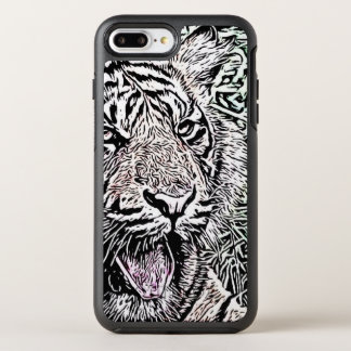 Amazing modified Tiger OtterBox Symmetry iPhone 8 Plus/7 Plus Case